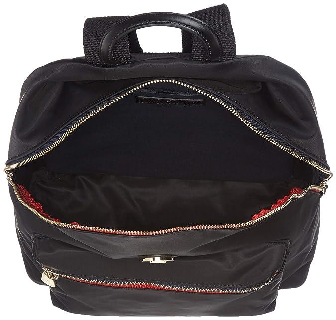 Tommy Hilfiger - Poppy Backpack, Mochilas Mujer, Negro (Black), 13x40x30 cm (B x H T): Amazon.es: Zapatos y complementos