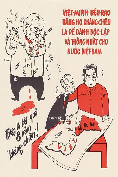 Amazon com : 1965 Vietnam War China Zhou En Lai Support Ho
