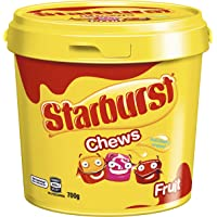 Starburst Fruit Chews Bucket 700g
