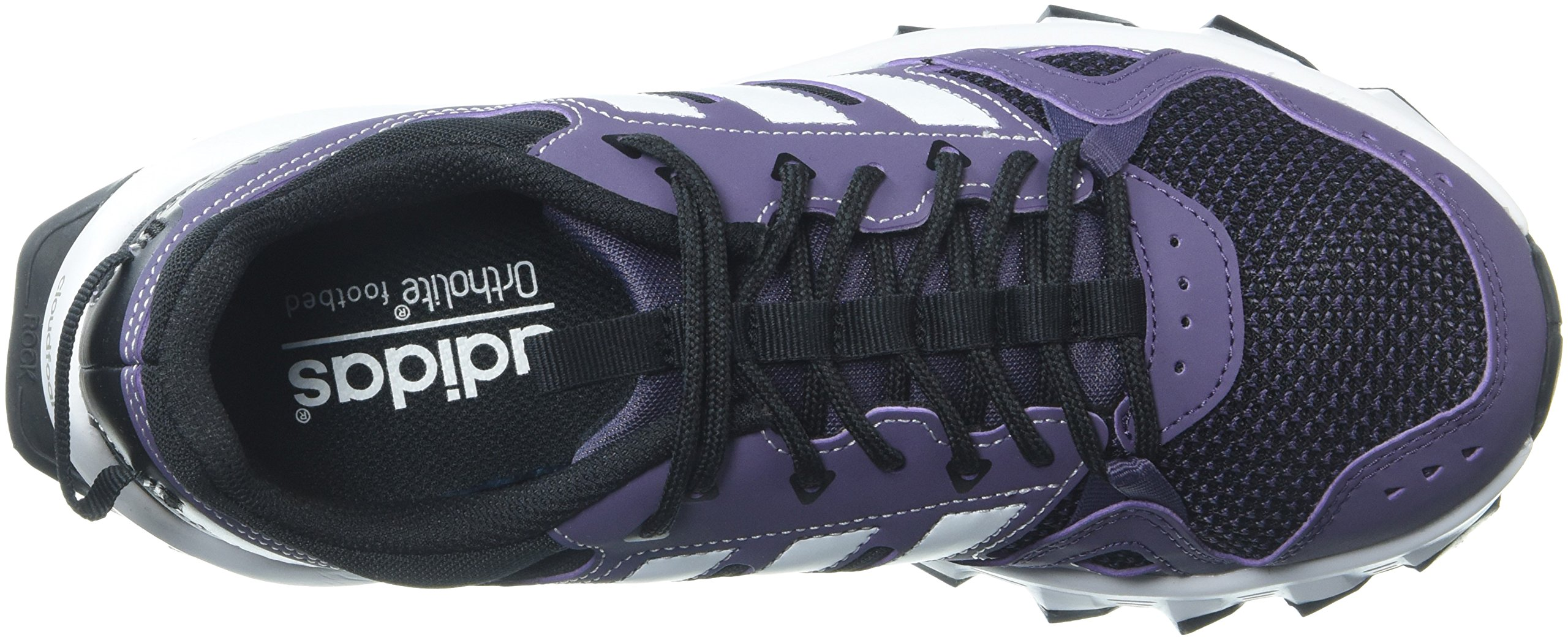 adidas Women's Rockadia w Trail Running Shoe, Trace Purple/White/Core Black, 7 M US by adidas (Image #8)