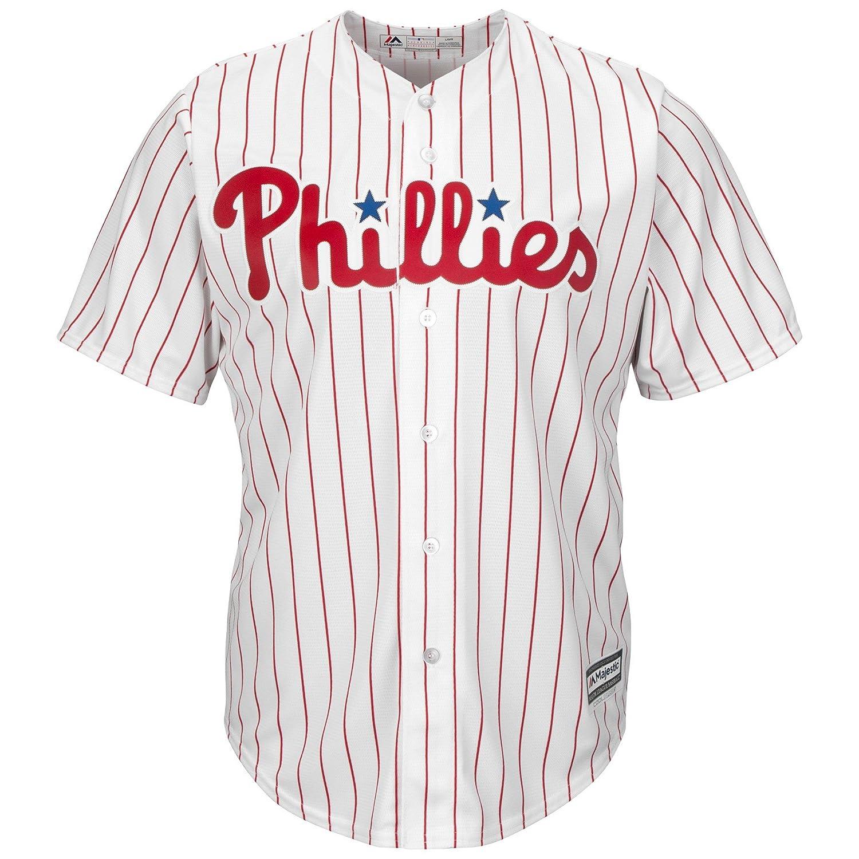 ec422aee Amazon.com: Majestic Philadelphia Phillies Home Cool Base Men's Jersey:  Sports & Outdoors