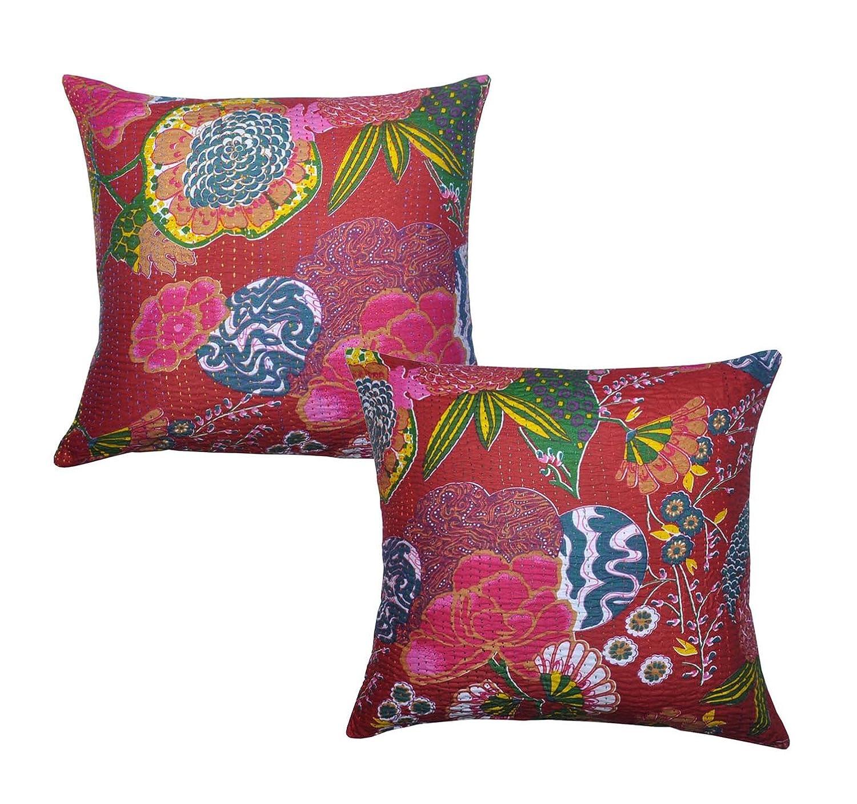 Rajasthali 2 Fundas para cojín, algodón, diseño hindú Hecho ...