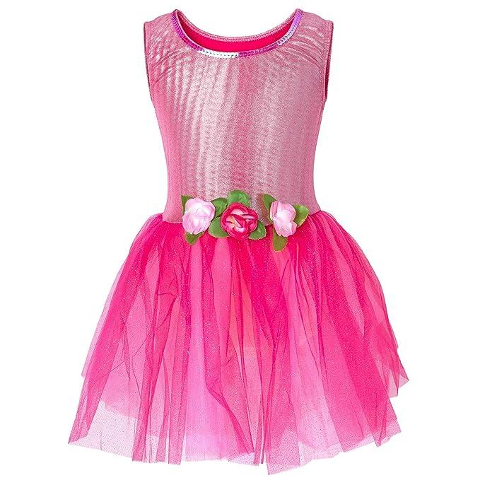 Amazon.com: Princess Expressions - Vestido de licra metálico ...
