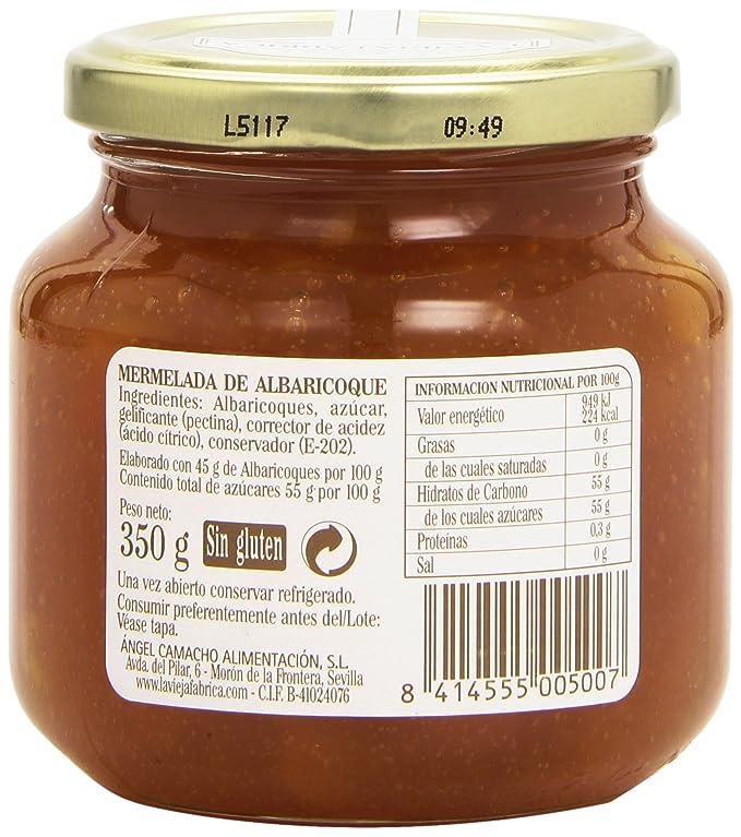 La vieja fábrica - Albaricoque - Mermelada - 350 g - [pack de 3]: Amazon.es: Alimentación y bebidas
