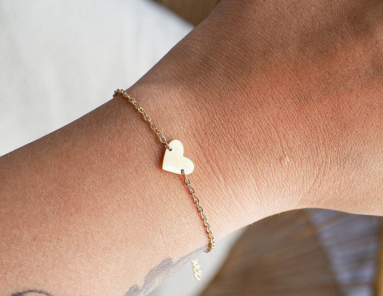 Bracelet Marraine Coeur Bracelet de Demande Marraine Acier Inoxydable Veux-tu Devenir ma Marraine ? Bracelet dannonce Naissance Livr/é avec Une Jolie Boite Cadeau