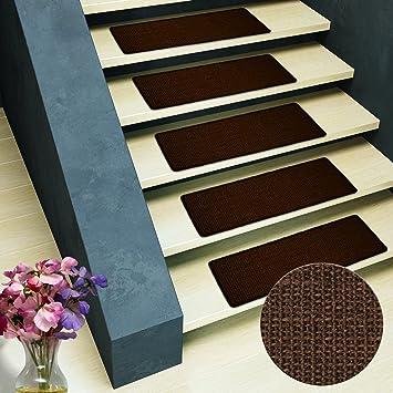 Pure Nature Sisal Stufenmatten | 15 Stück Set | rechteckig, ohne ...