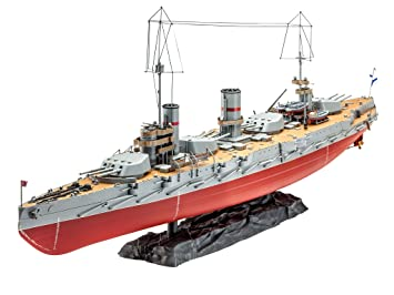Revell - Maqueta WWI Battleship Gangut, Escala 1:350 (05137 ...