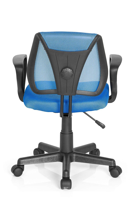 Blue 40x53x92 cm Hjh Office Kiddy Cd Silla de oficina infantil Azul