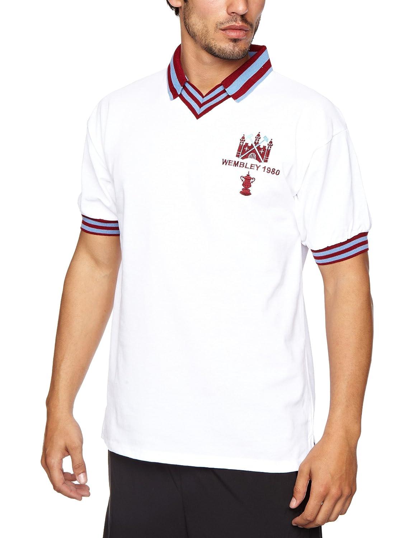 Score Draw Official Retro Wham 80A FACF PK - Camisa, Color Blanco ...