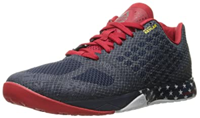 finest selection 3a16e 7b606 Reebok Men s Crossfit Nano 5.0 Training Shoe, Americana Collegiate Navy Excellent  Red