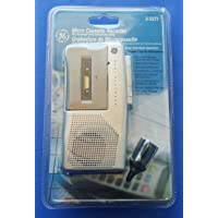 GE 3-5377 Microcassette Recorder