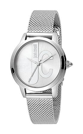 d719164a7ff2 Just Cavalli Reloj Analógico para Mujer de Cuarzo con Correa en Acero  Inoxidable JC1L050M0065  Amazon.es  Relojes