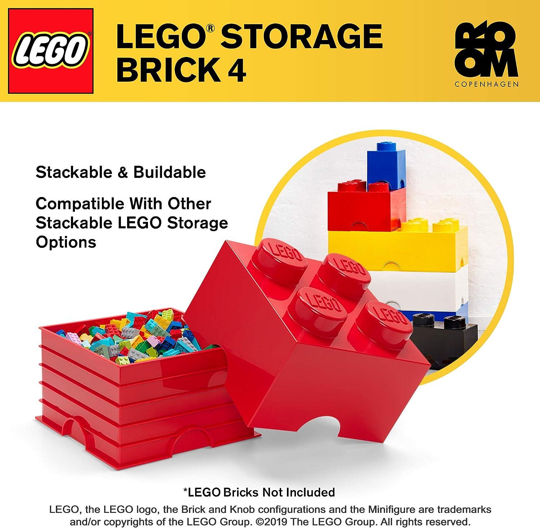 Danawares Lego - Caja de Almacenamiento con 4 espárragos 40031730: Room Copenhagen: Amazon.es: Juguetes y juegos