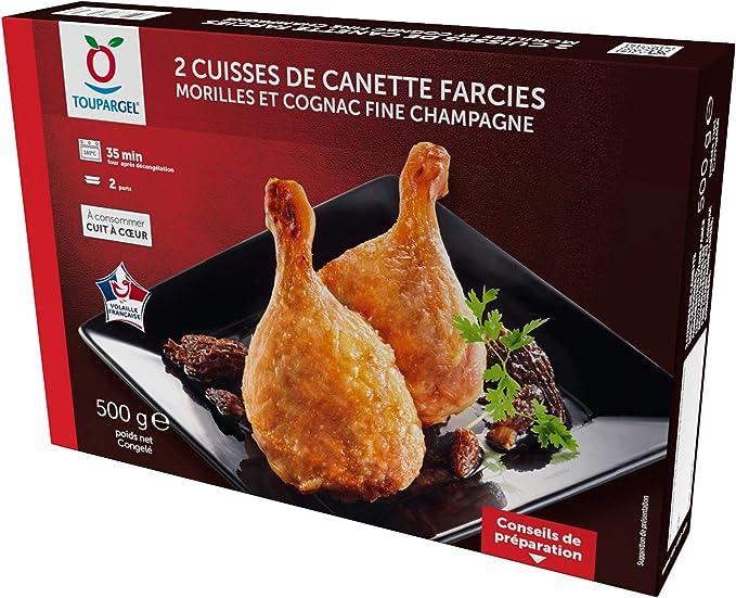 Cuisses De Canard Surgelees Farcies Morilles Et Cognac 2 X 250 G