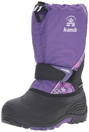 377d7aa54c4c Kamik Sleet2 Snow Boot Purple 3 M US Little Kid