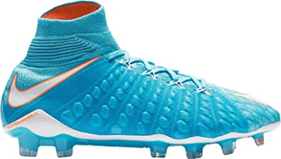2e604845d NIKE WOMEN S HYPERVENOM PHANTOM 3 DF FG - (Polarized Blue Chlorine Blue Tart