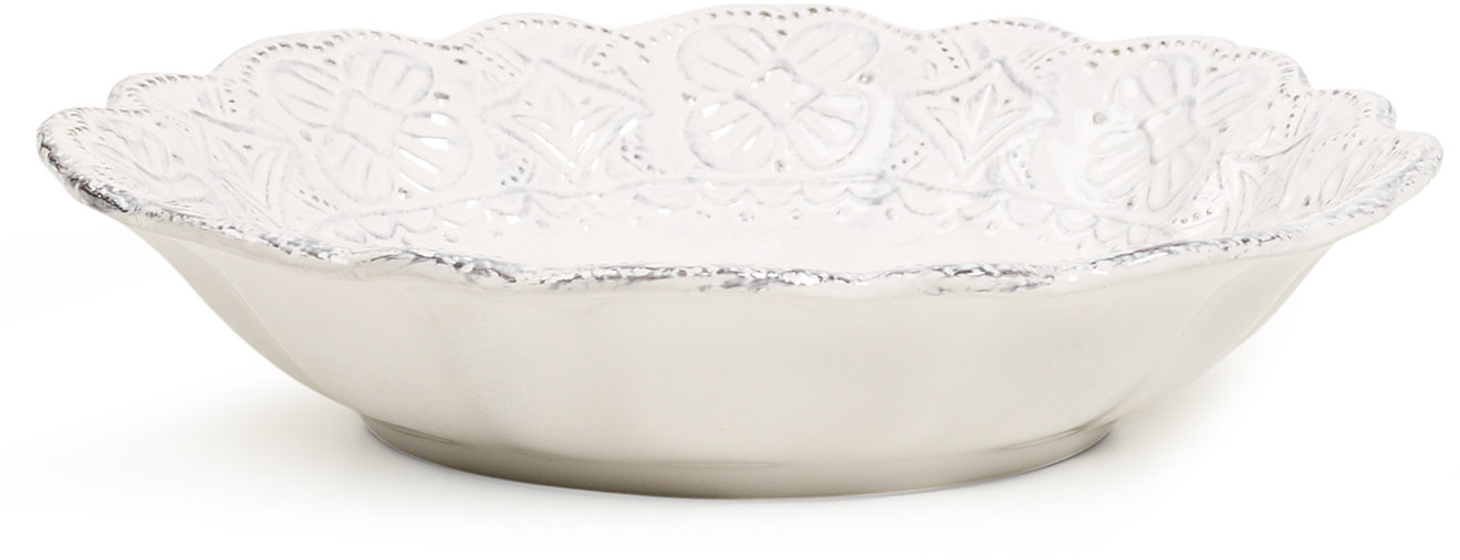 Maison Versailles Blanc Soup Bowl - Dinnerware - Dining & Entertaining - Macy's