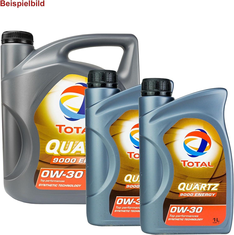 7 Liter MotorÖl Total Quartz 9000 Energy 0w 30 Auto