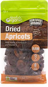 Absolute Organic Dried Apricots , 250g