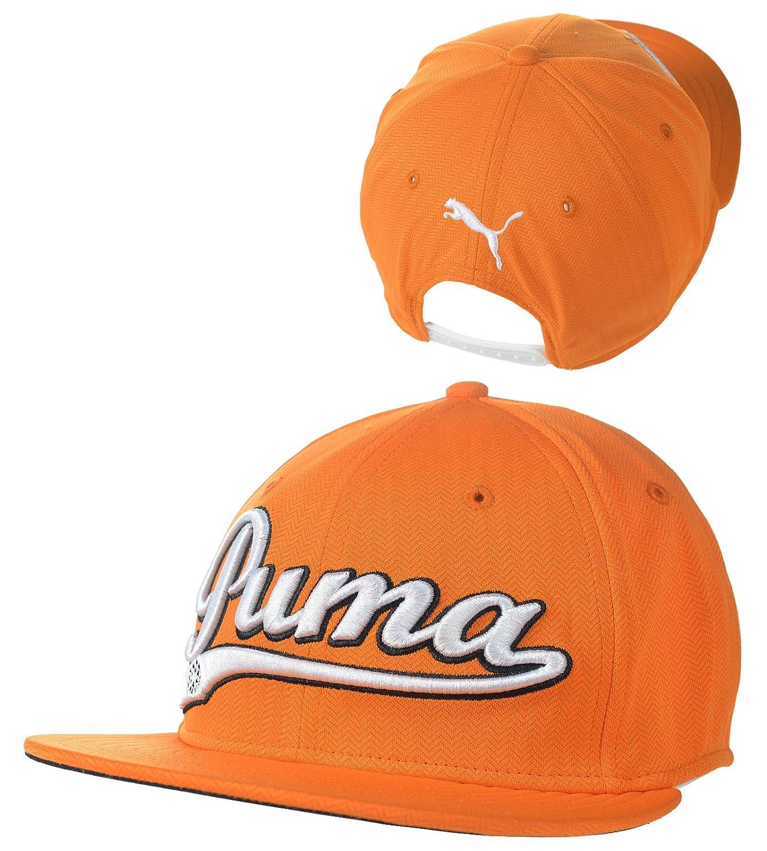 PUMA Logo Script Cool Cell Snapback Cap