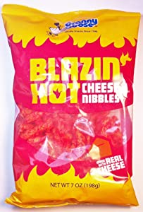 Granny Goose Blazin' Hot Cheese Nibbles 7oz (Pack of 10)