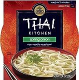 Thai Kitchen Gluten Free Spring Onion Rice Noodle Soup Bowl, 2.4 oz (Case of 36)