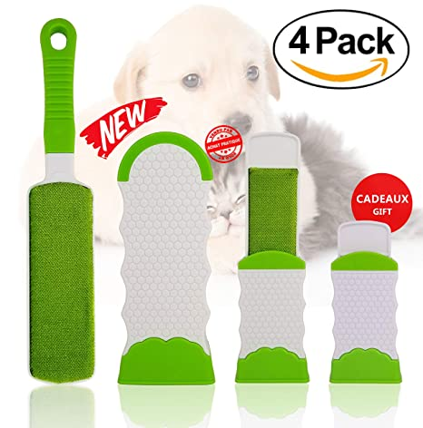 Removedor de Pelo de Mascotas y Removedor Lint Afeitadora Tela Ropa Fuzz | Cepillo de piels