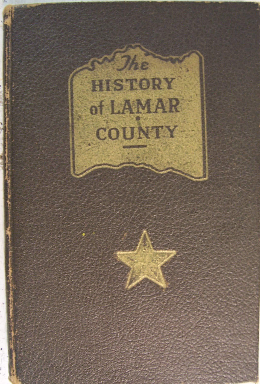 Lamar County Texas History 1937 A W Neville Amazon Com