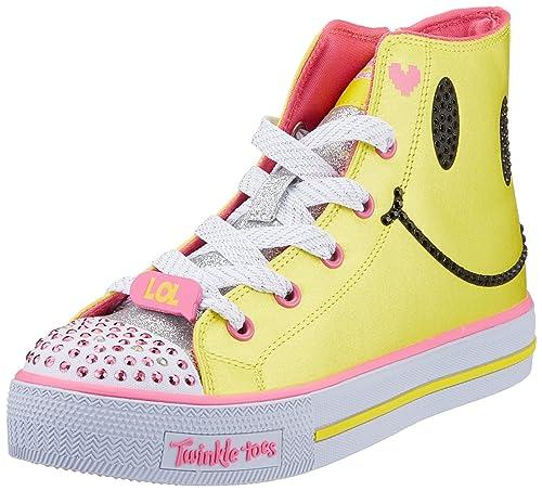 Skechers Shuffles-Sparkle Smile, Zapatillas Altas para Niñas: Amazon.es: Zapatos y complementos