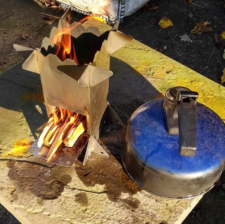 Microestufa de le/ña para Camping SF Innovations