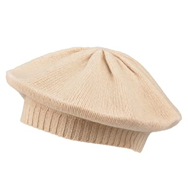 0ddaa8b2a2052 Image Unavailable. Image not available for. Color  Portolano Womens Solid  Color Cashmere Beret