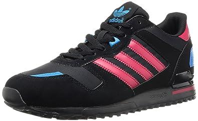 6ec603d020cf0 adidas Originals Men s Zx700 Trainers Black Size  10.5 UK  Amazon.co ...