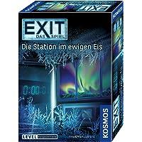 KOSMOS 692865 - EXIT - Das Spiel, Die Station im ewigen Eis, Level: Fortgeschrittene, Escape Room Spiel, für 1 bis 4 Spieler ab 12 Jahren, einmaliges Event-Spiel für Erwachsene und Kinder
