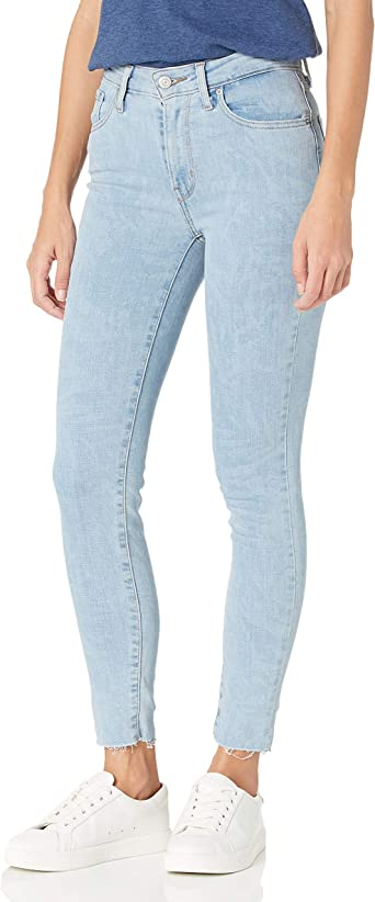 Amazon Com Levi S 721 Jeans Entallados Cintura Alta Para Mujer Clothing