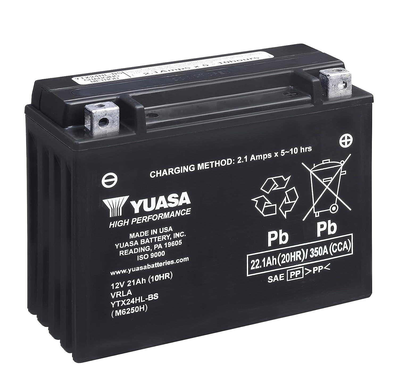 High Performance Maintenance Free Battery WC Yuasa YTX24HL-BS