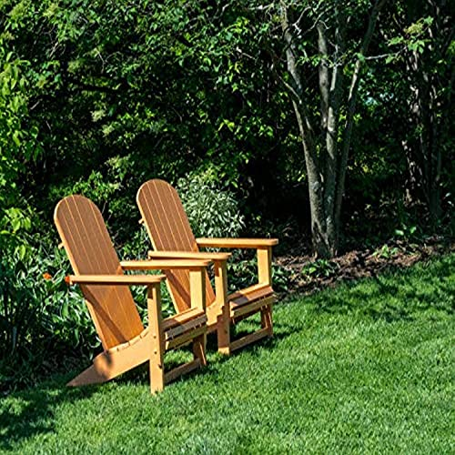 Posterazzi PDDUS39JEG0112LARGE Pair of Adirondack Chairs in a Garden Photo Print, 36 x 24, Multi