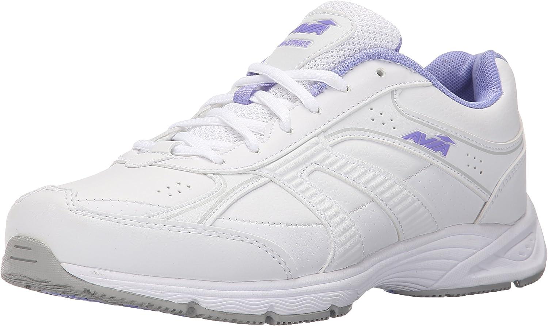 Avia Avi-Strike Mujer US 10.5 Blanco Grande Zapatos para Caminar: Amazon.es: Zapatos y complementos