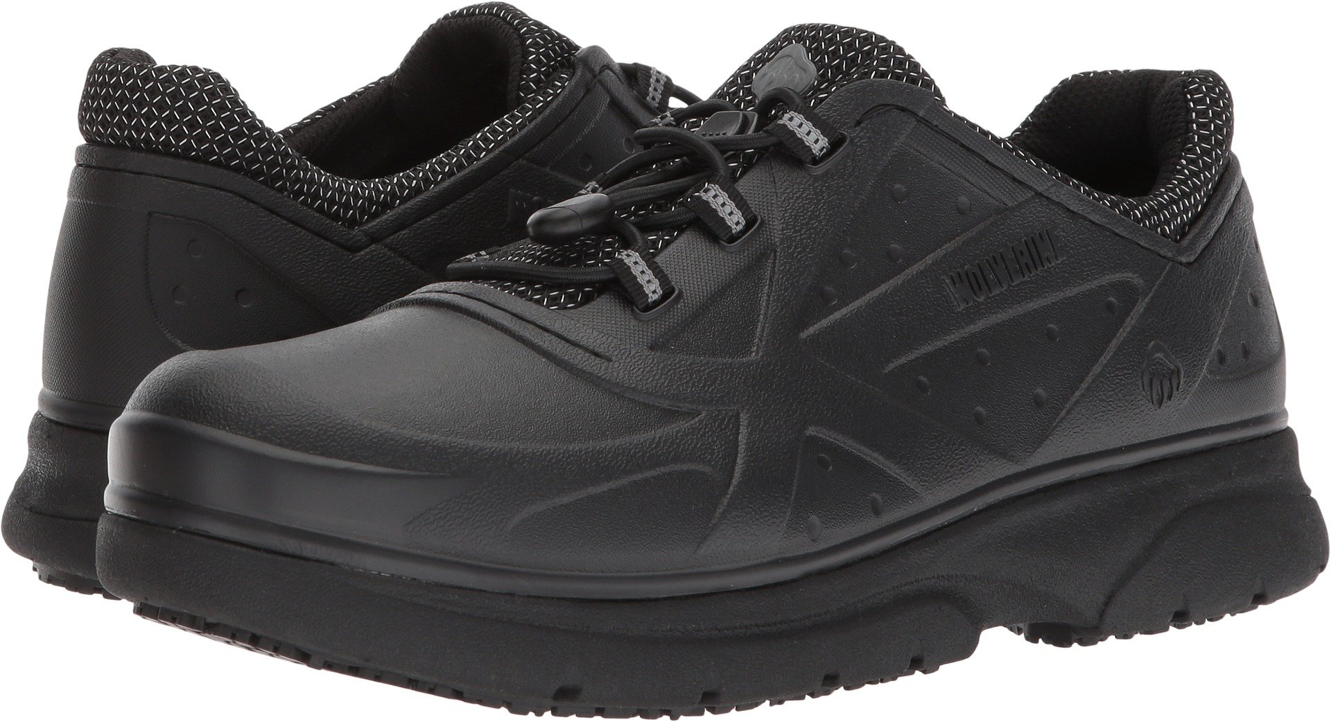 Wolverine Women's Serve SR Health Care Professional Shoe, Black, 8 M US