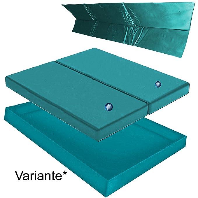 Wasserbett Matratze Wanne//Liner SET Hardside Kingsize 183 x 213 cm MONO UNO