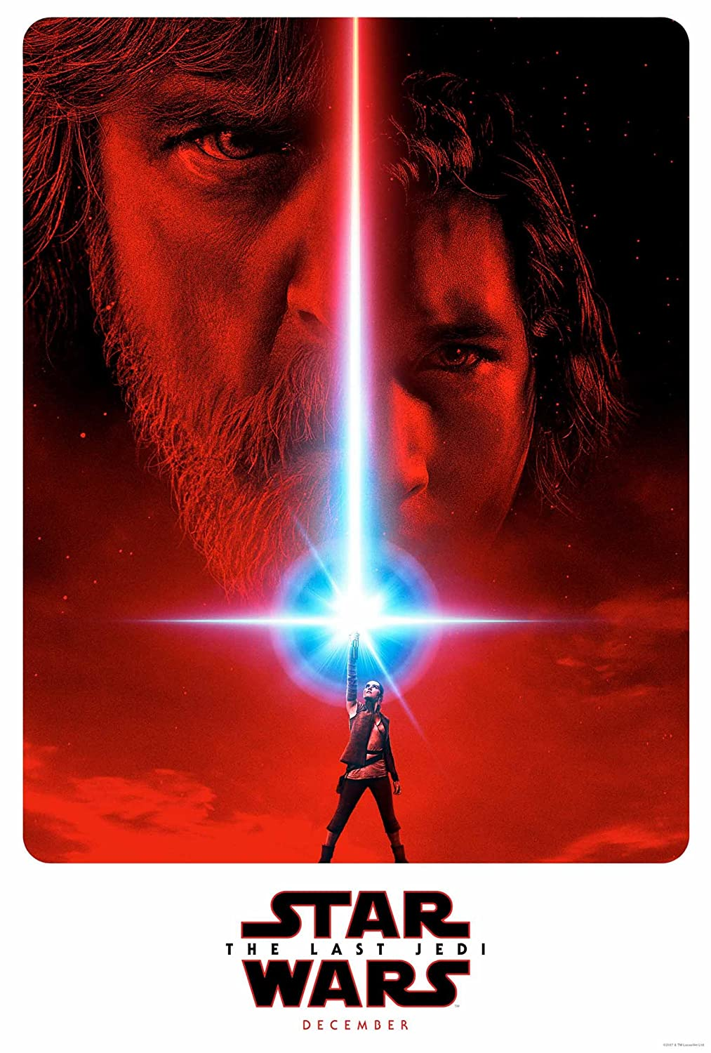 Star Wars The Last Jedi Teaser Movie Poster 24x36 Inch