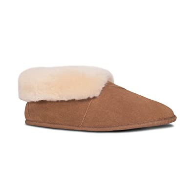 f96a53c9a7e Cloud Nine Sheepskin Ladies Soft Sole Bootie (6)