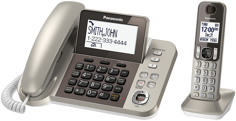 Panasonic Kx Tgf350n Dect 1 Handset Landline Telephone Id Cooling Tg 31 Electronics