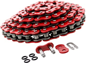 520 Pitch 92 Links Red Standard Chain for Yamaha Blaster YFS200 1988-2006