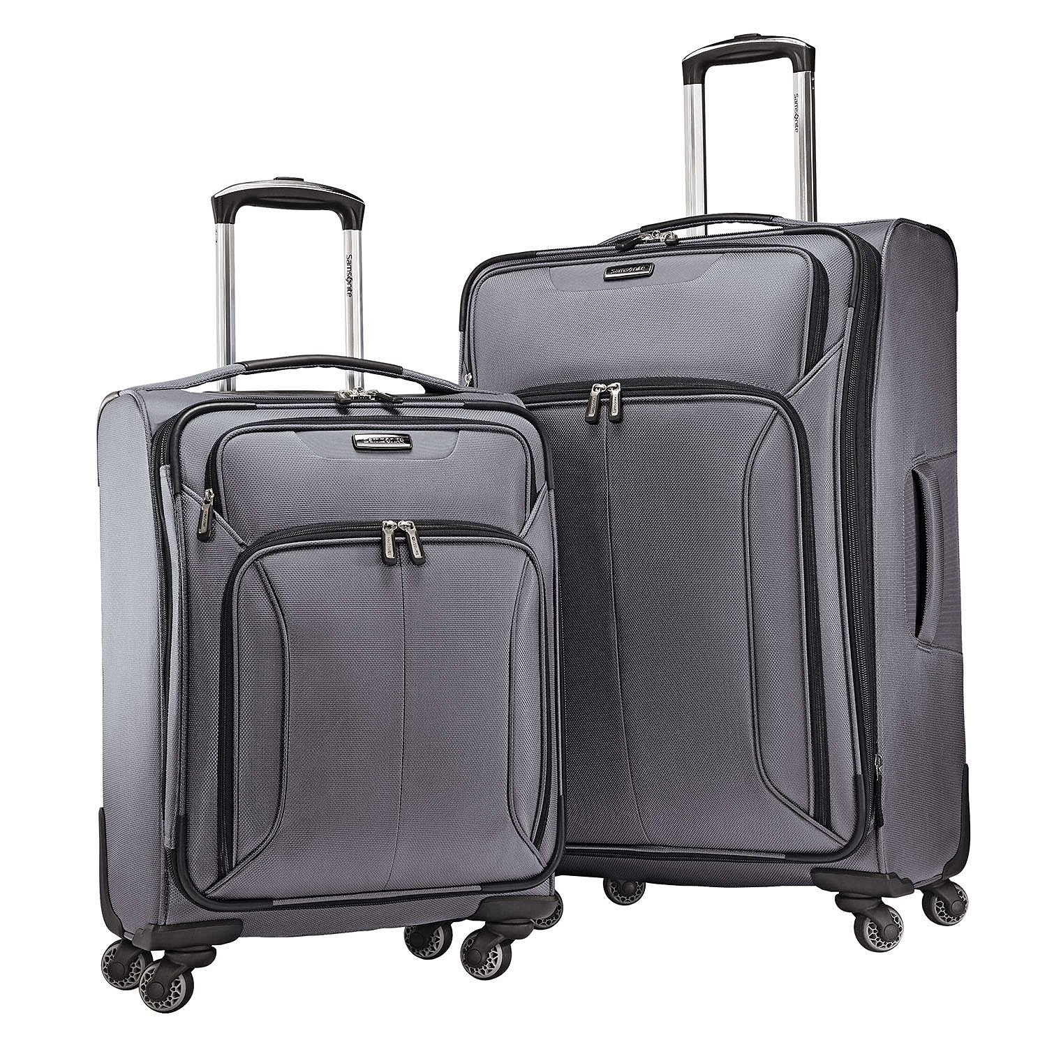 Amazon.com | Samsonite Spherion 2-Piece Luggage Set, Charcoal | Luggage Sets