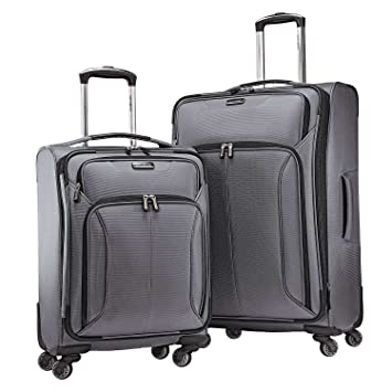 Samsonite Spherion 2-Piece Luggage Set, Charcoal