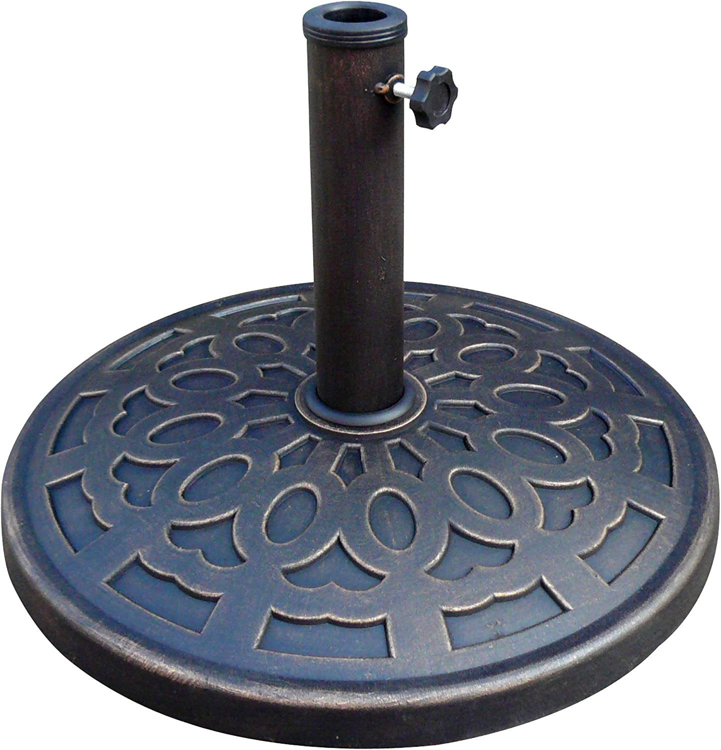 Bond Manufacturing 63138 14 kg. Stone Resin Umbrella Base