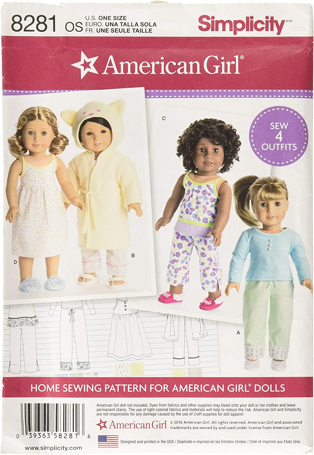 Doll Not included! dolls NEW American Girl Sunshine Garden Outfit for 18 in