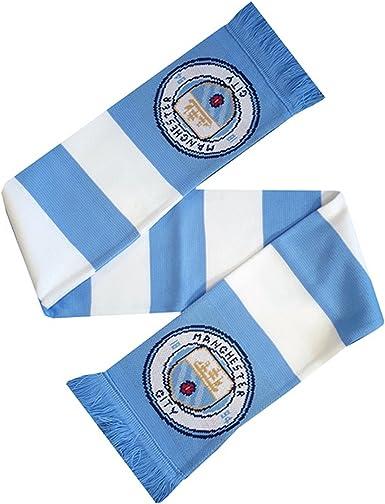 Manchester City FC Authentic Bufanda de punto EPL