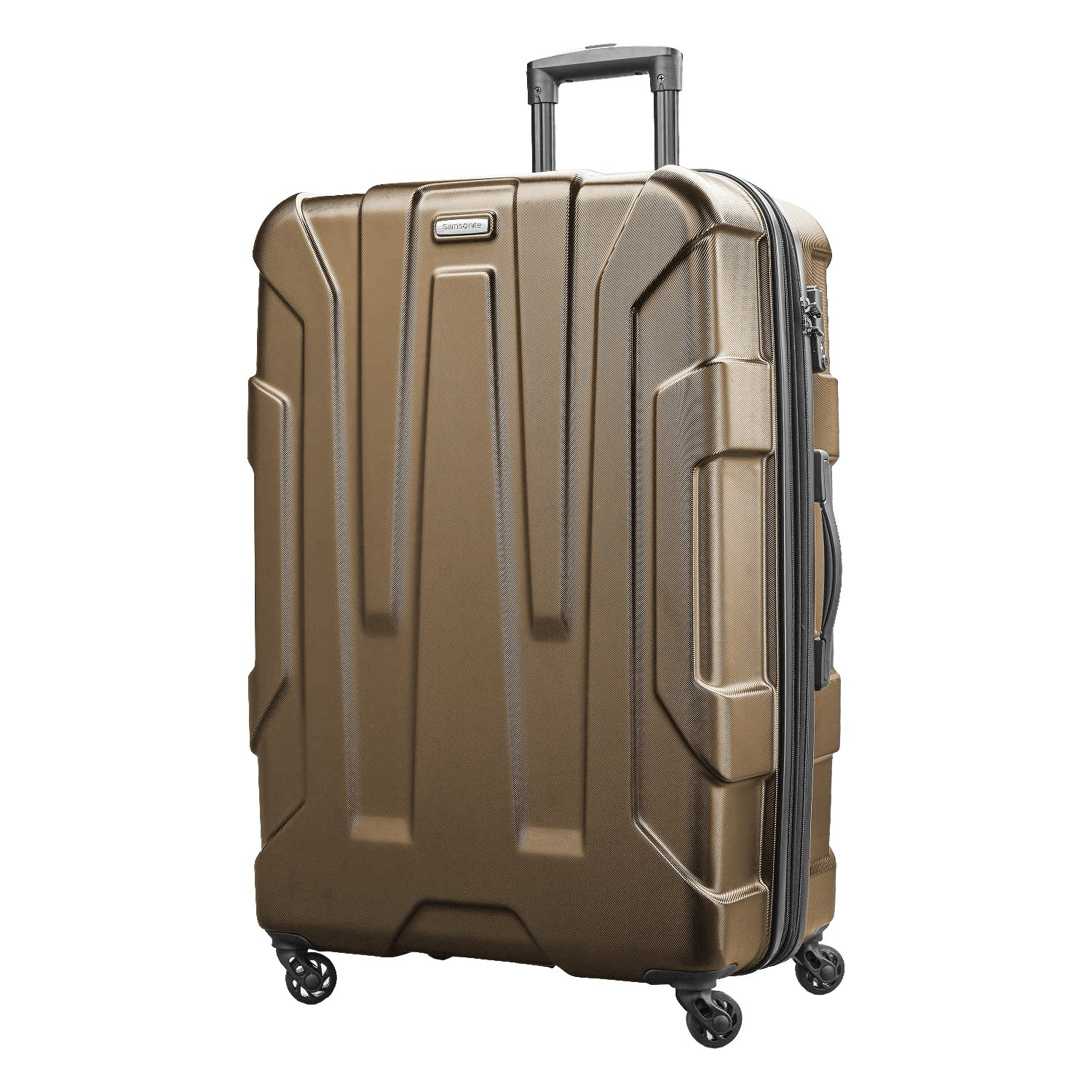 Samsonite Centric Expandable Hardside Checked Luggage with Spinner Wheels, 28 Inch, Blue Slate Samsonite Drop Ship Code 102690-1101