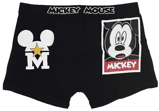 57669abfd0ba7c Disney Mickey Man Boxer Set Black  Amazon.co.uk  Clothing